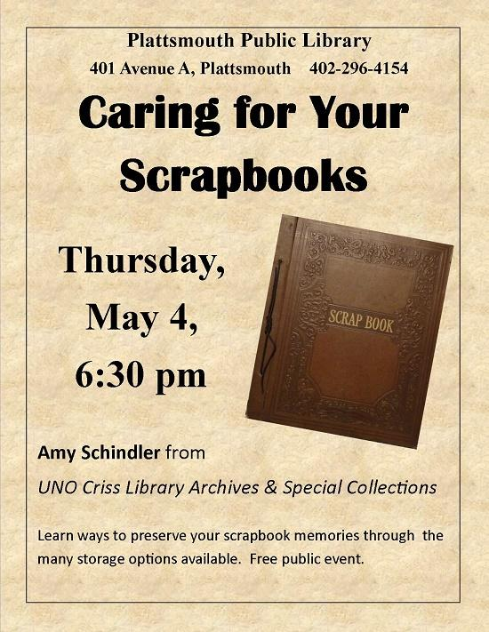 Caring for Your Scrapbooks
