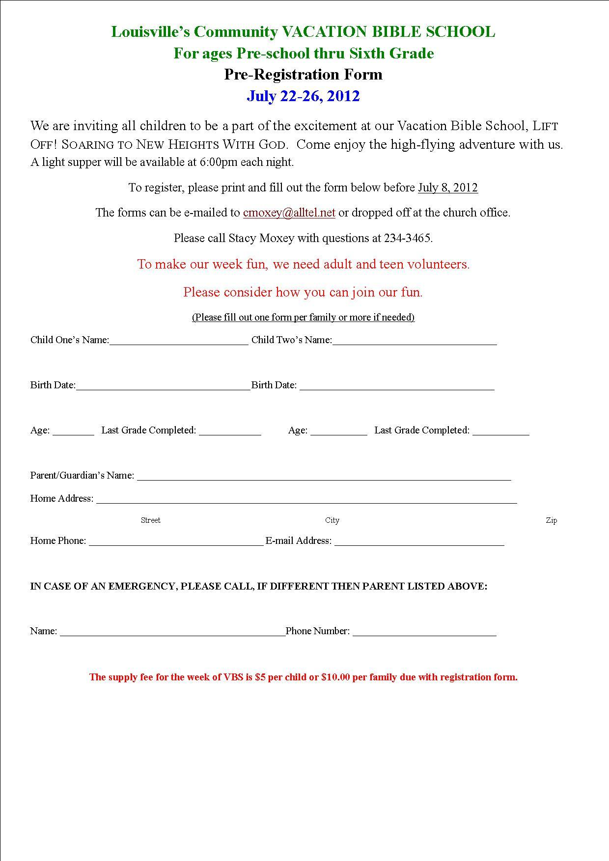 VBS pre_registration_form_2012