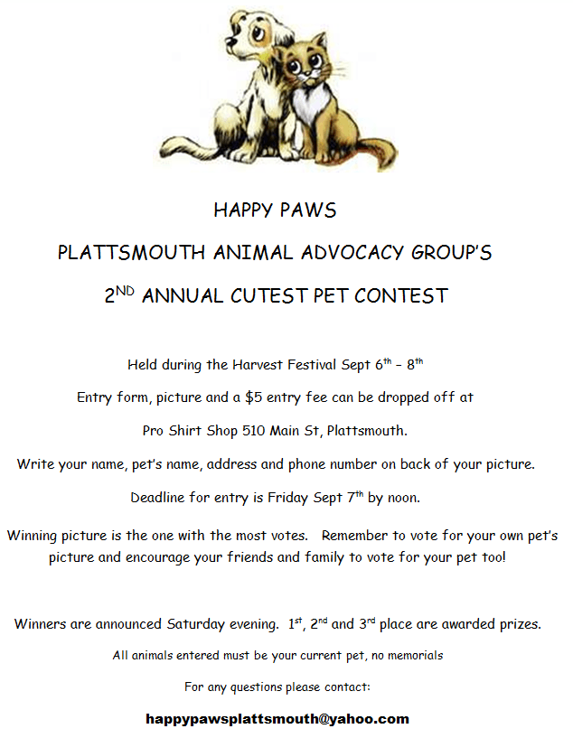 happypaws contest