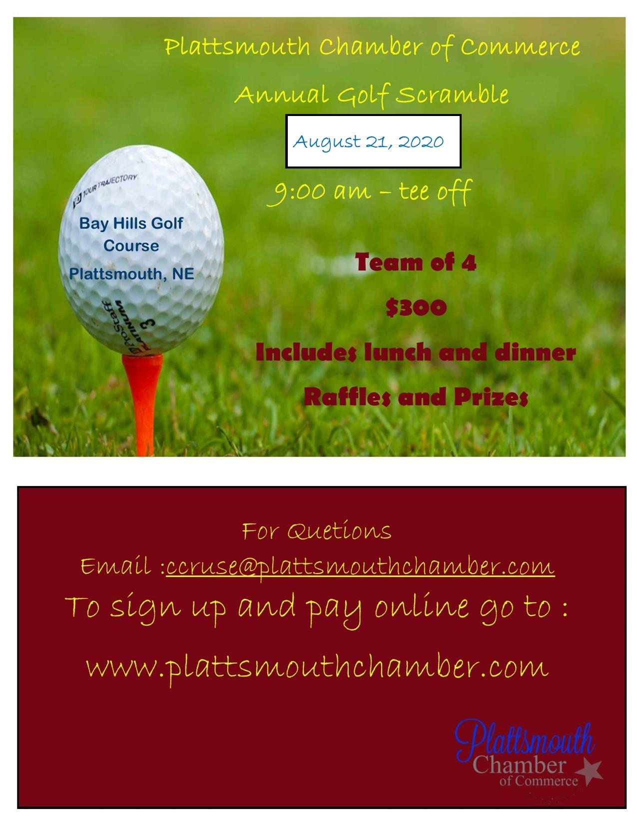 golf scramble august