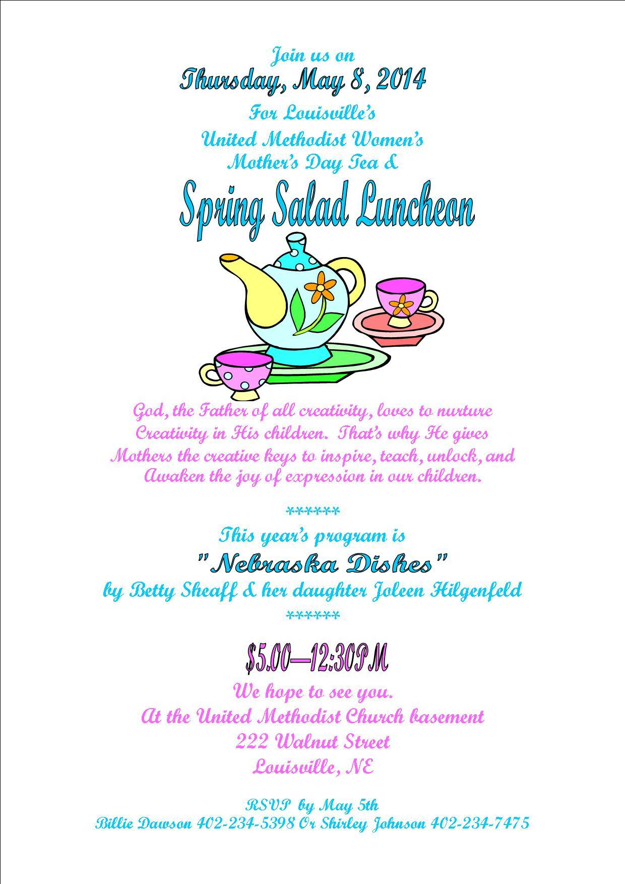 UMW Spring Salad Luncheon2